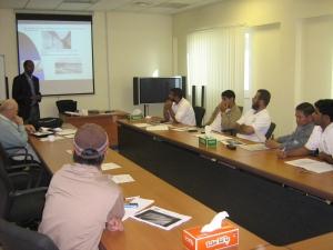 Owner Training, Al Ansab, Oman WWTP