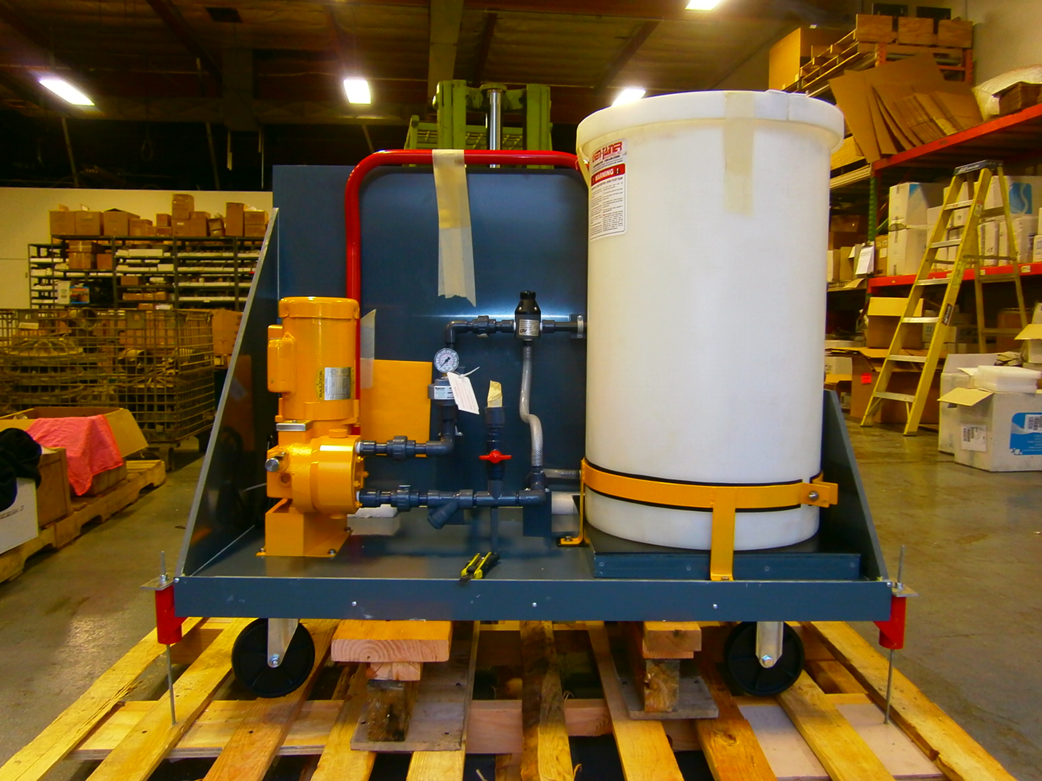 Acid Dosing System For Diffused Wastewater Aeration | SSI