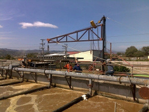 Lagoon Aeration Costa Rica Poultry