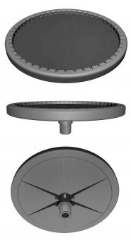 ecd coarse bubble diffusers