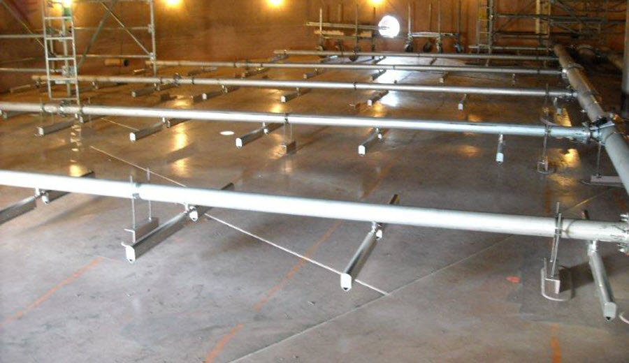 wide band diffusers
