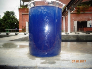 Textile Wastewater - Blue Jeans Factory
