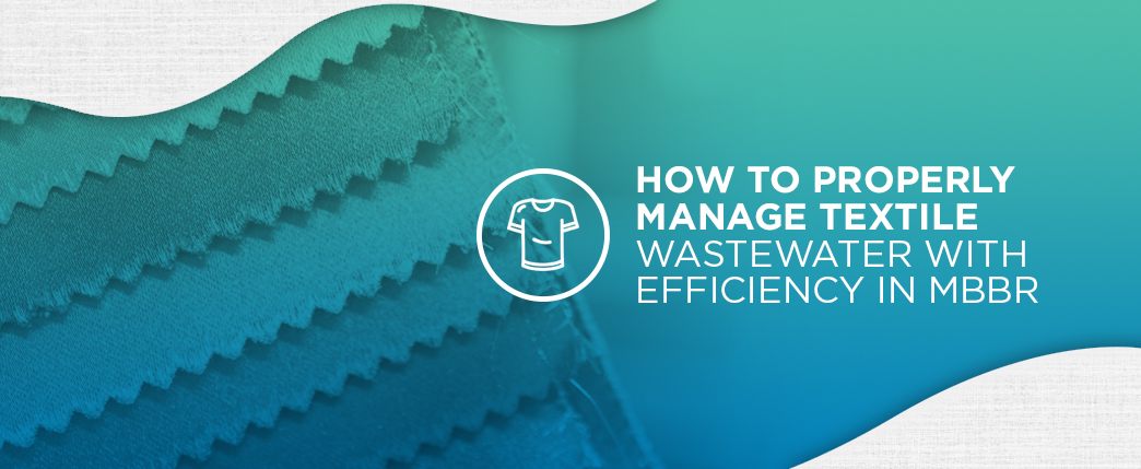 how to manage textile wastewater