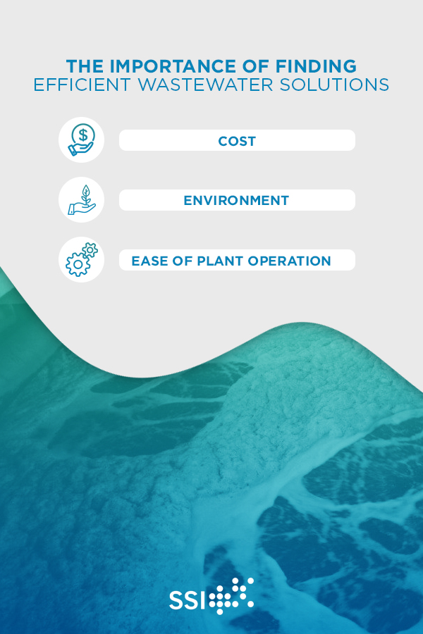 efficient wastewater solutions