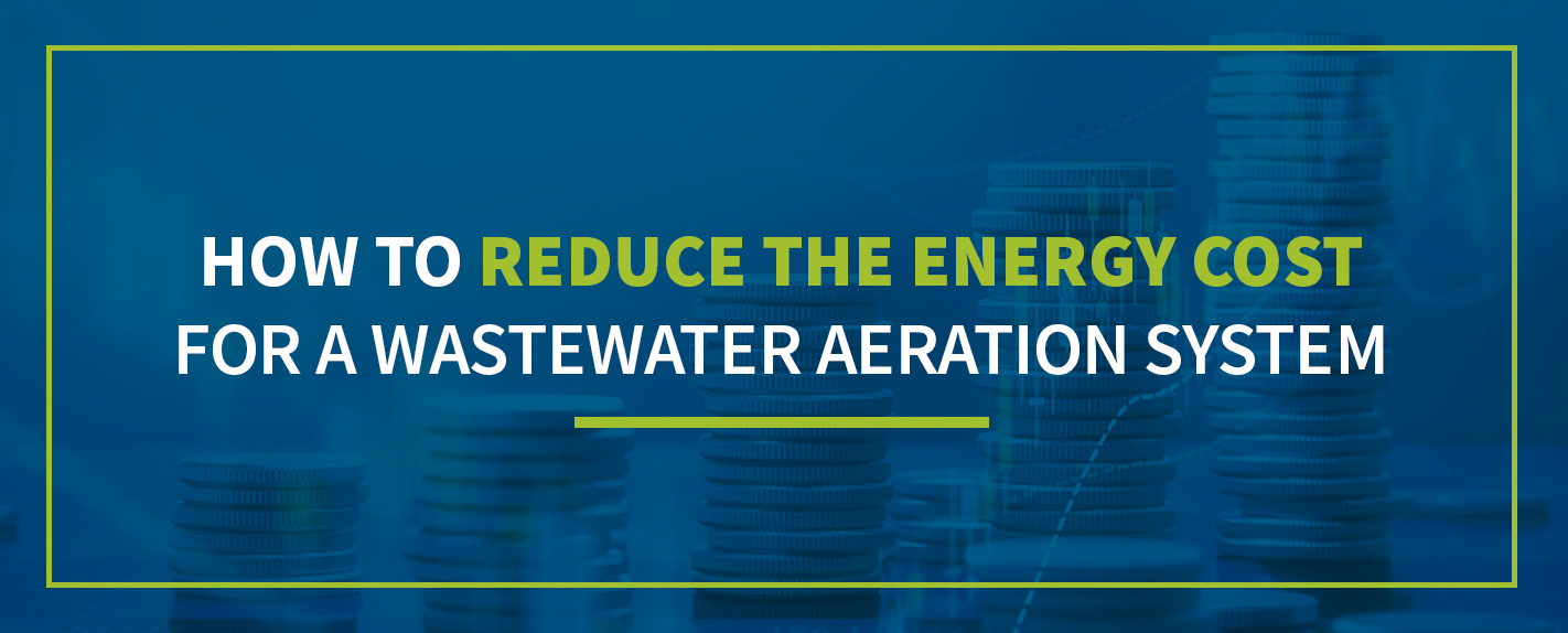 how to reduce energy cost in wastewater