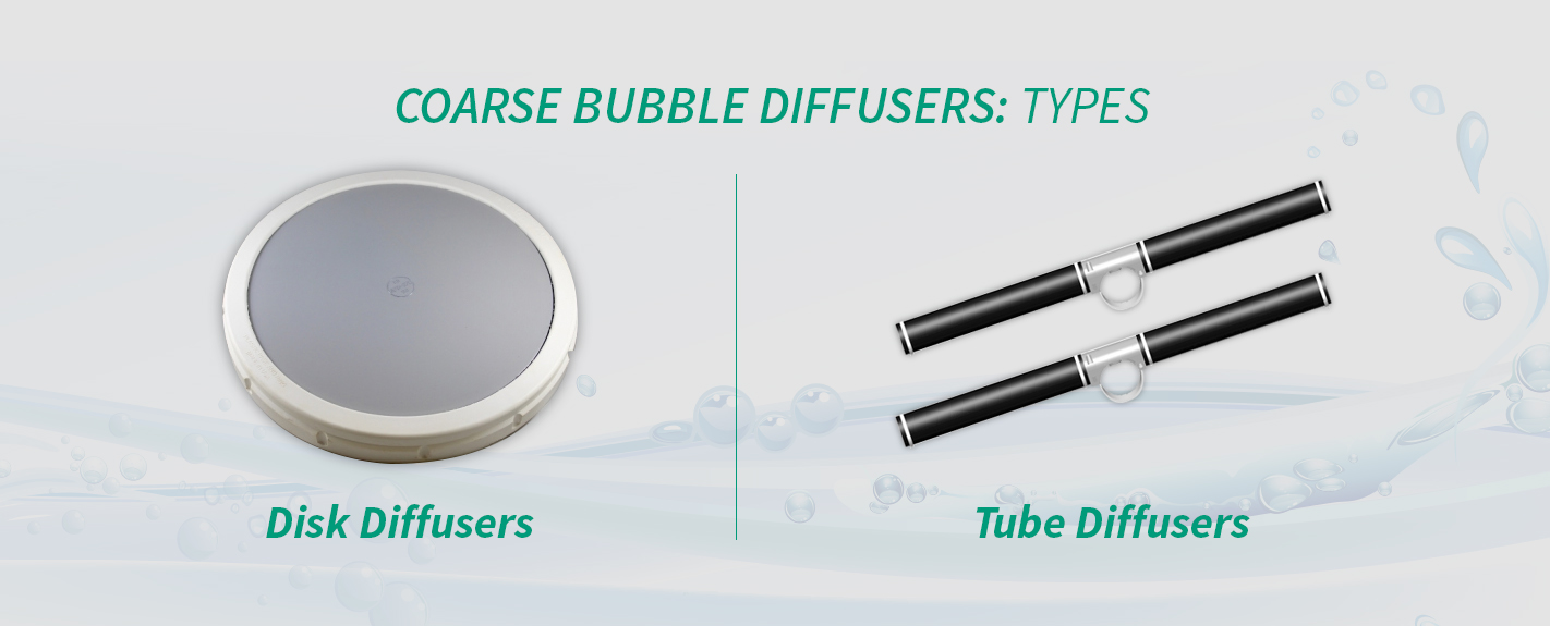 types of coarse bubble diffusers