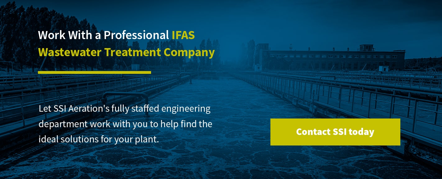 Work With a Professional IFAS Wastewater Treatment Company