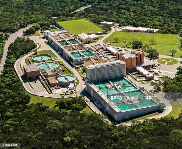 sewage treatment water reclamation plant