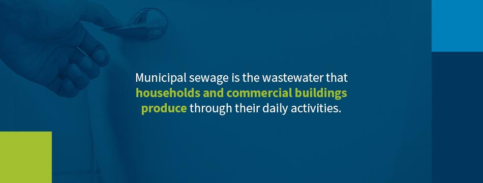Municipal Sewage